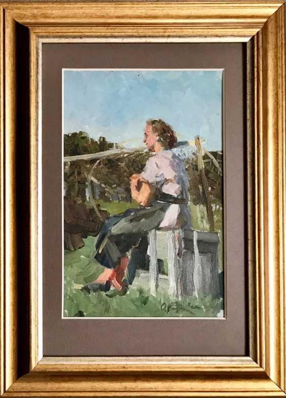 Kozlovskiy A. S. Painting, 1958 - photo 1