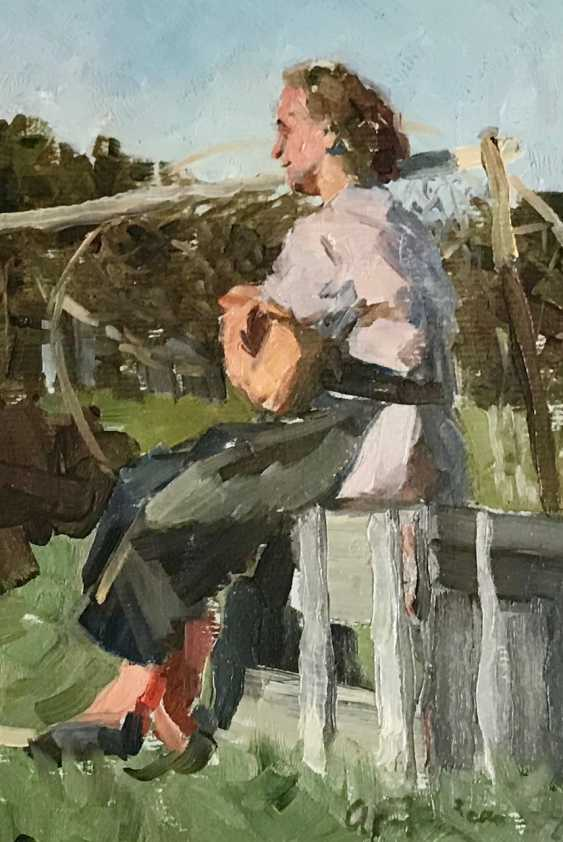 Kozlovskiy A. S. Painting, 1958 - photo 2