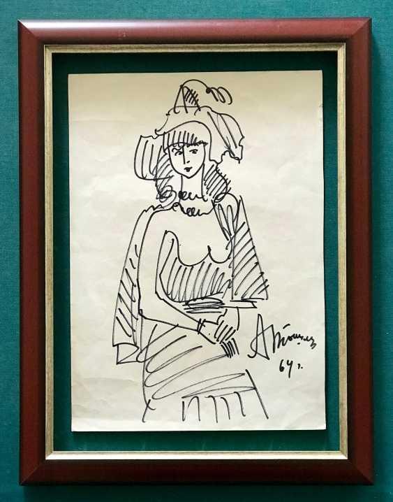 Tyshler A. G. Painting, 1964 - photo 1