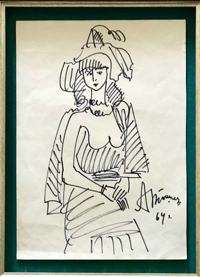 Tyshler A. G. Painting, 1964 - photo 3
