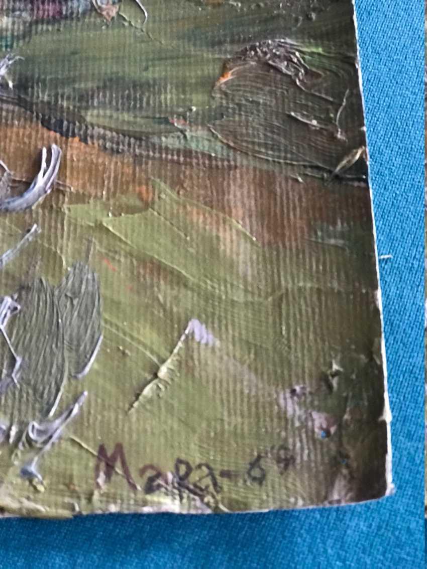 """Marochkin A. A. """"Barstock landscape"""", 1969-1975. - photo 2"""