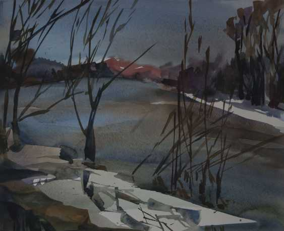 Inga Kallagova. The Last Snow on the River - photo 1