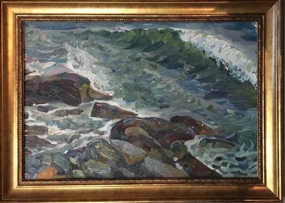 """Крохалев P. S. """"Meer und Steine"""",1971 - Foto 1"""