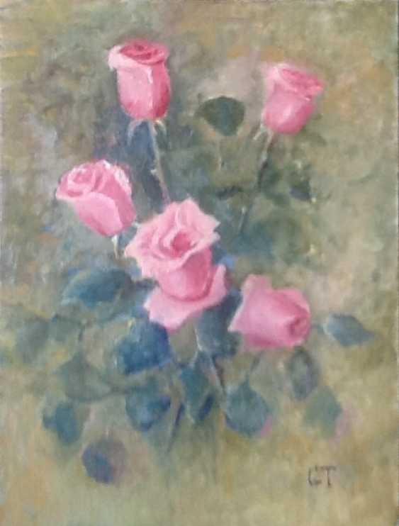 Galina Timofeevskaya. Pink roses - photo 1