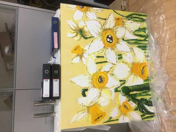 Antonina Zaharova. Daffodils - photo 1
