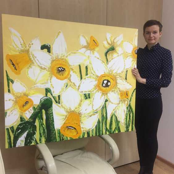 Antonina Zaharova. Daffodils - photo 2