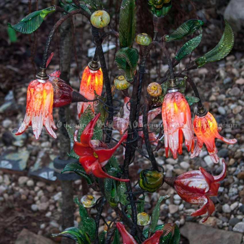 Oksana Parfentyeva. Garden led lamp in the SUMMER MOOD - photo 3
