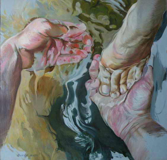 Andrei Dubinin. The force of the water.Feet-washing. - photo 1
