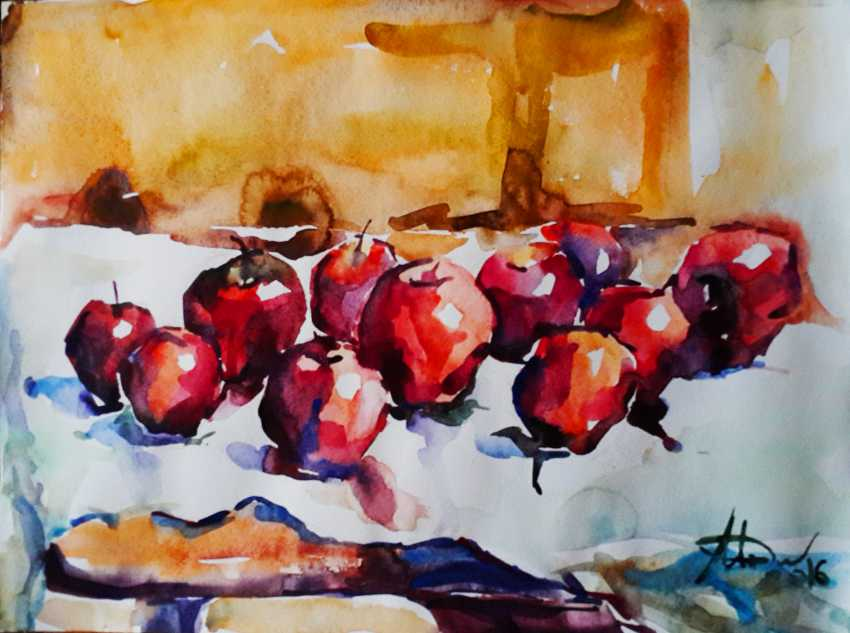 Monika Lemeshonok. Apples are red - photo 1