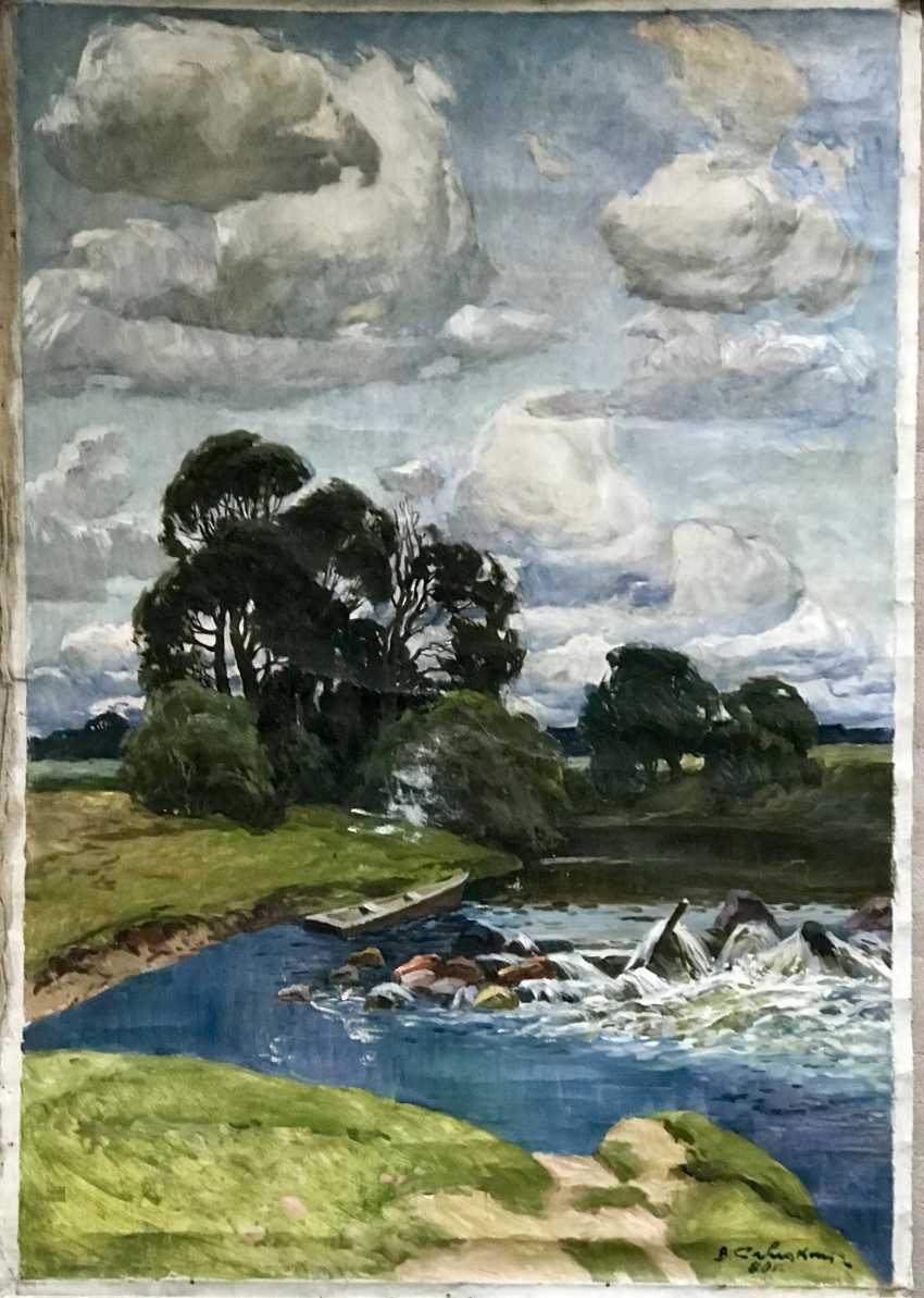 Savitsky V. N. Painting, 1980 - photo 1