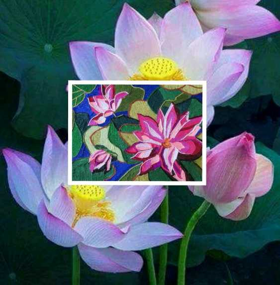 "Olga Beketova. ""Lotus"" - photo 2"