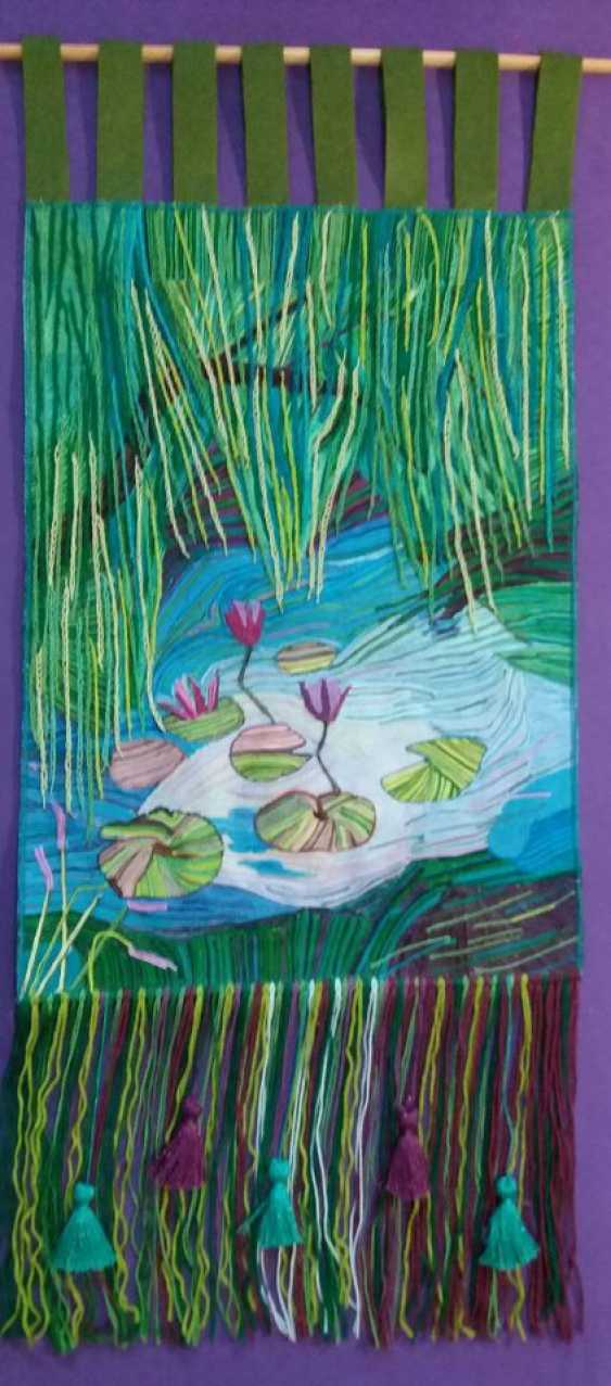 "Olga Beketova. ""Willow pond"" - photo 1"