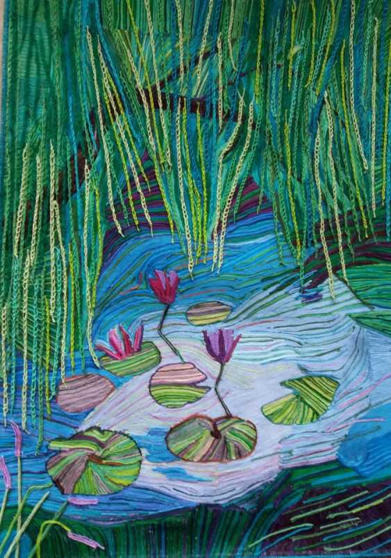 "Olga Beketova. ""Willow pond"" - photo 2"