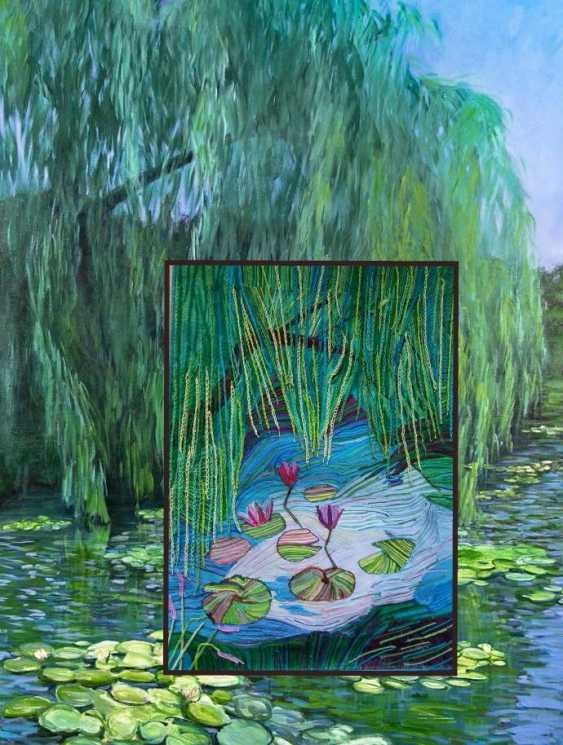 "Olga Beketova. ""Willow pond"" - photo 3"