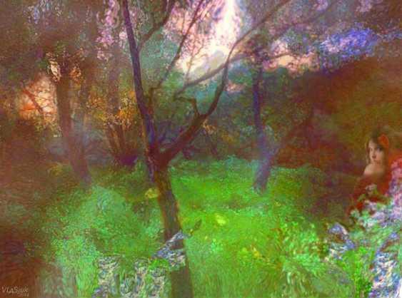 Alexandr Vlasyuk. The wonders of Loshitsa Park - photo 1