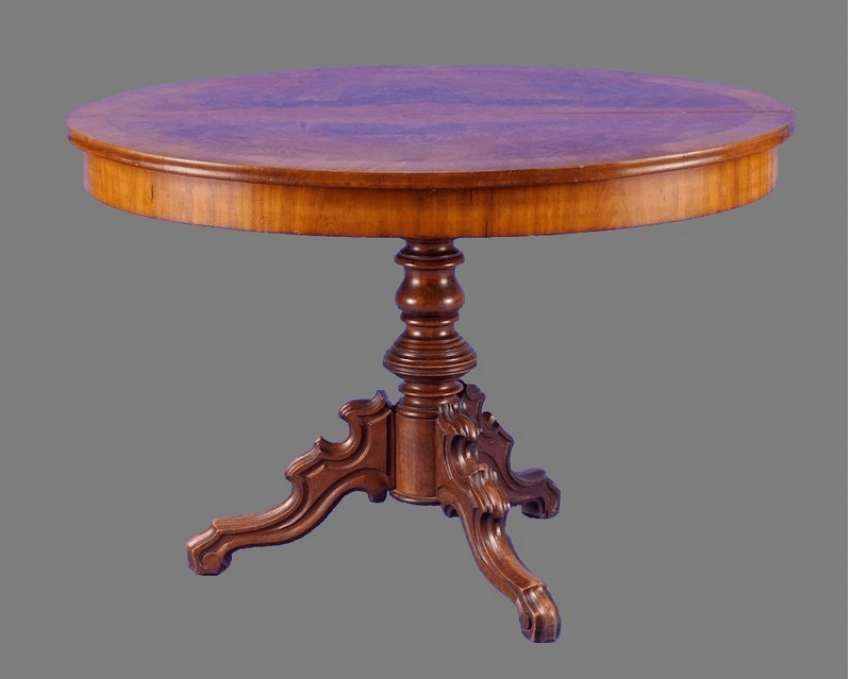 Table Germany, 1850, mahogany - photo 1