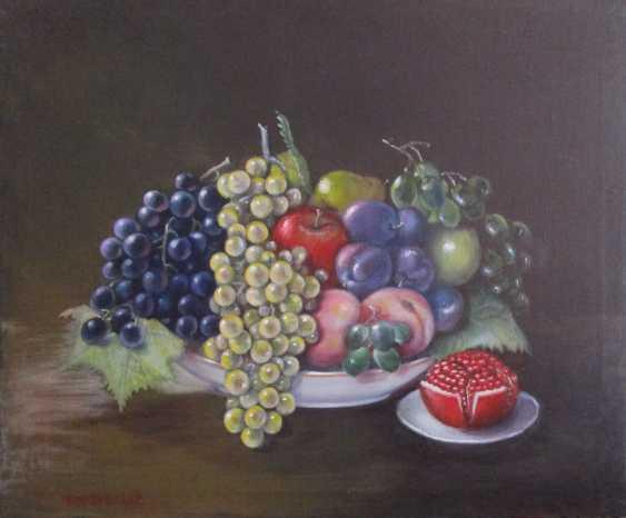 """Tamara Yakubovskaja. """"Fruit dish"""" - photo 1"""