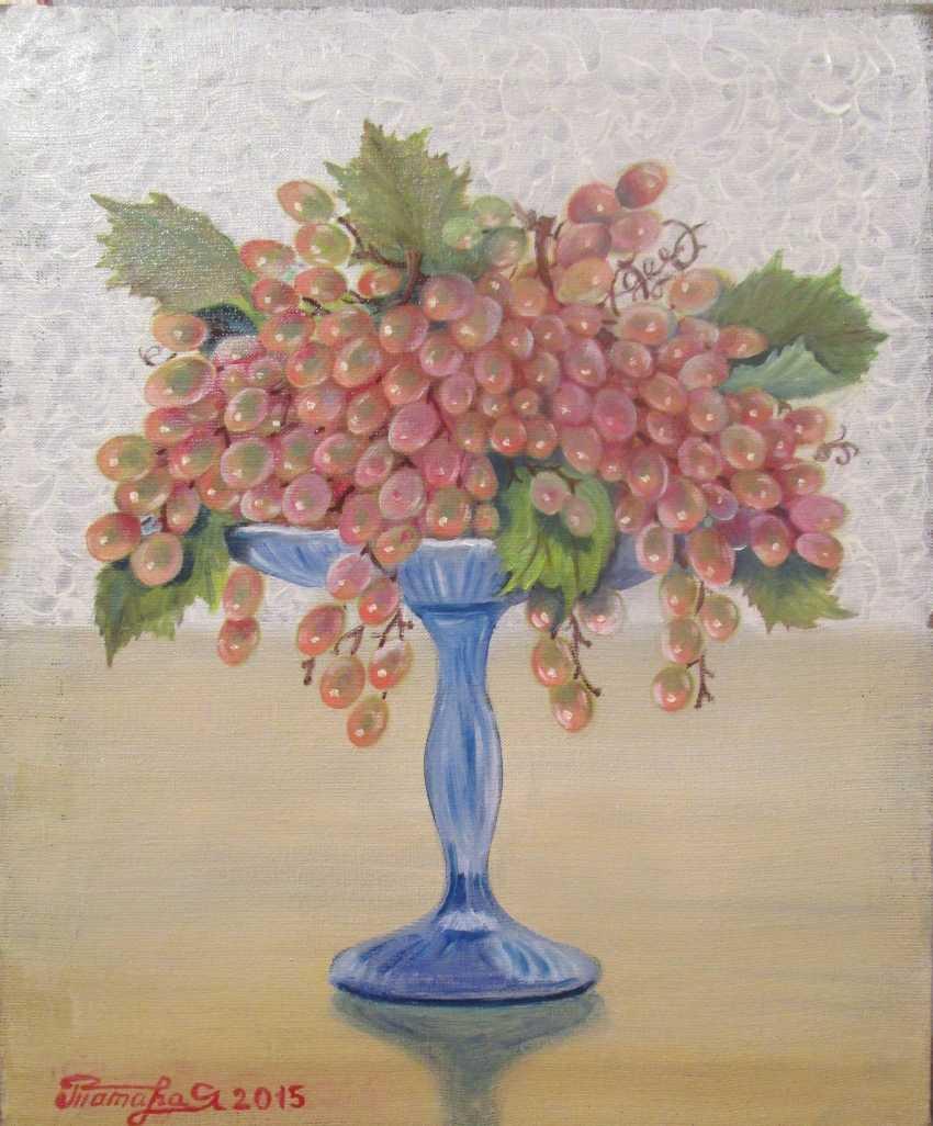 """Tamara Yakubovskaja. """"Bunch of grapes"""". - photo 1"""