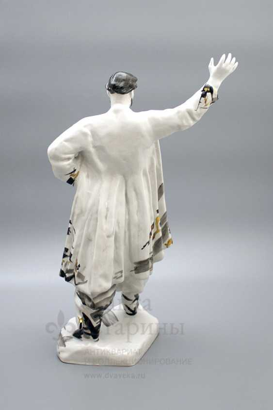 "The statuette ""Stepan Razin"", porcelain, LFZ, the sculptor E. P. Krupin, 1960-ies - photo 5"
