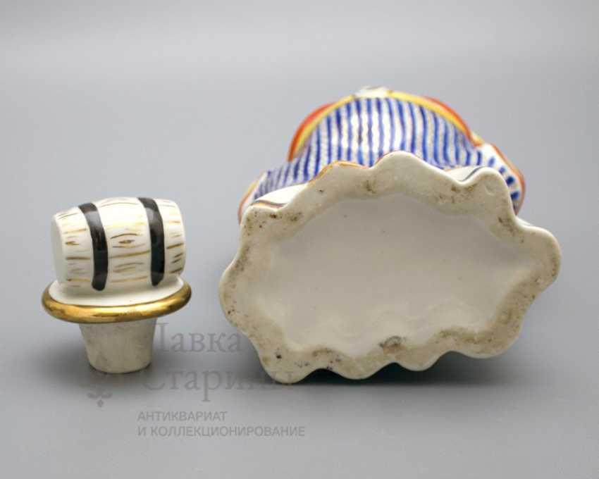 "Shtof-bottle ""happy clown"", ZFA Verbilki porcelain, 1950s, sculptor S. M. Orlov - photo 5"