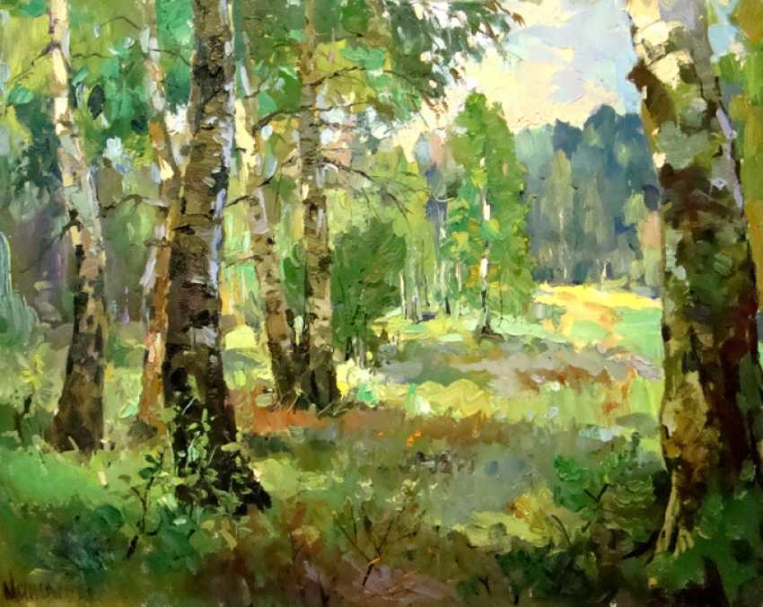 Andrey Mishagin. In the birch cool - photo 1