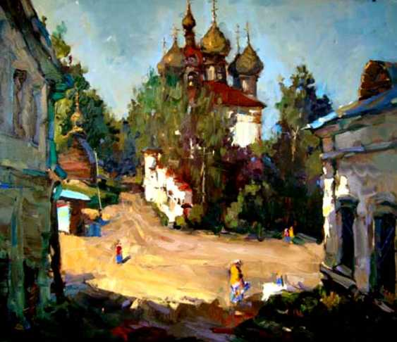 Andrey Mishagin. Shady street in Plyos - photo 1