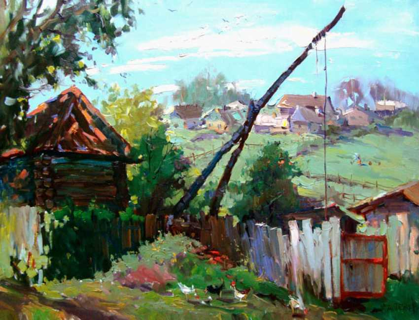 Andrey Mishagin. At the old well - photo 1