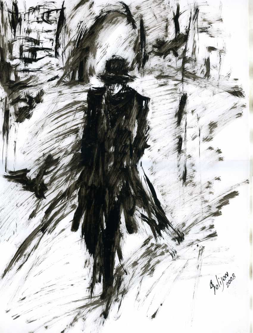 "Salidjon Mamatkulov. 63. To the novel of F. Dostoevsky ""Crime and punishment"" - photo 1"