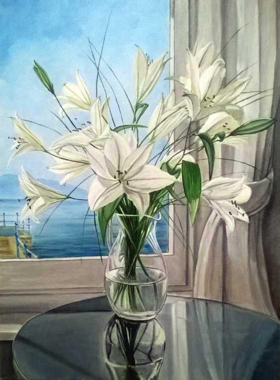 Slava Chilikin. Bouquet at the window - photo 1
