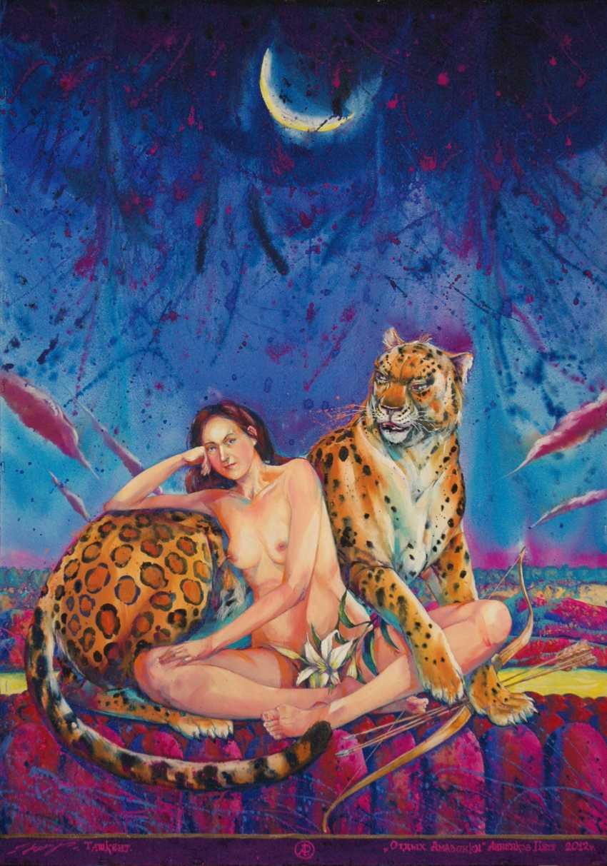 """Petr Annenkov. """"THE REST OF THE AMAZON"""" - photo 1"""