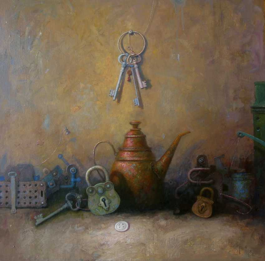 Sergey Malysh. Still life with copper coffee maker - photo 1