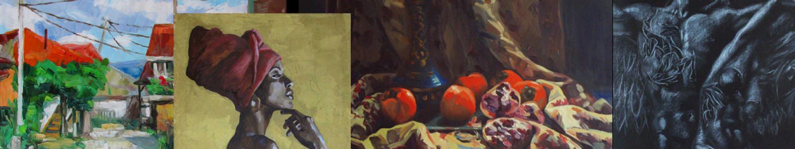 Gallery Painter Kateryna Bortsova