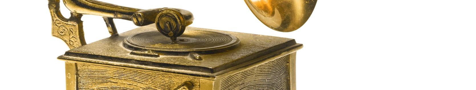 Антикварные граммофоны