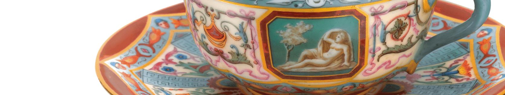 antiques tea sets