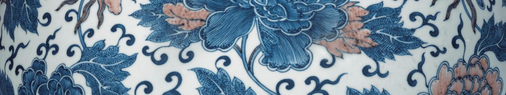 Антикварные фарфоровые вазы