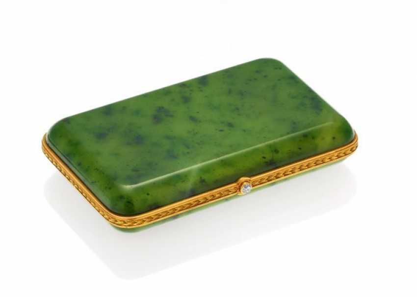 NEPHRITE CASE. Russia, St. Petersburg, 1900. - photo 1