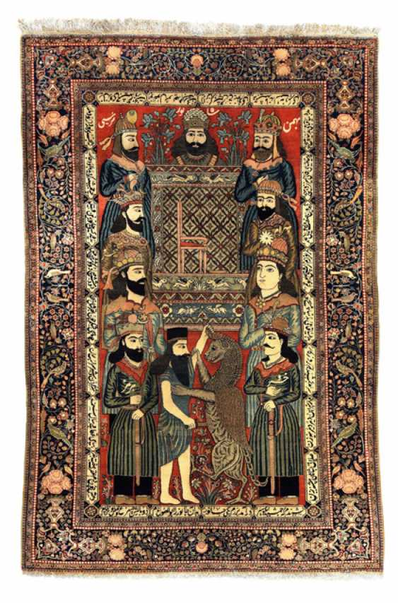 Fine Kork Wool Keschan Image Carpet - photo 1
