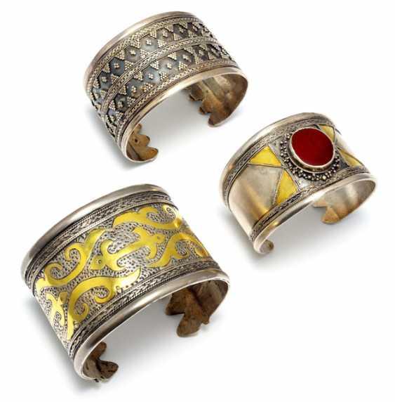 Three Cuff Bracelets - photo 1