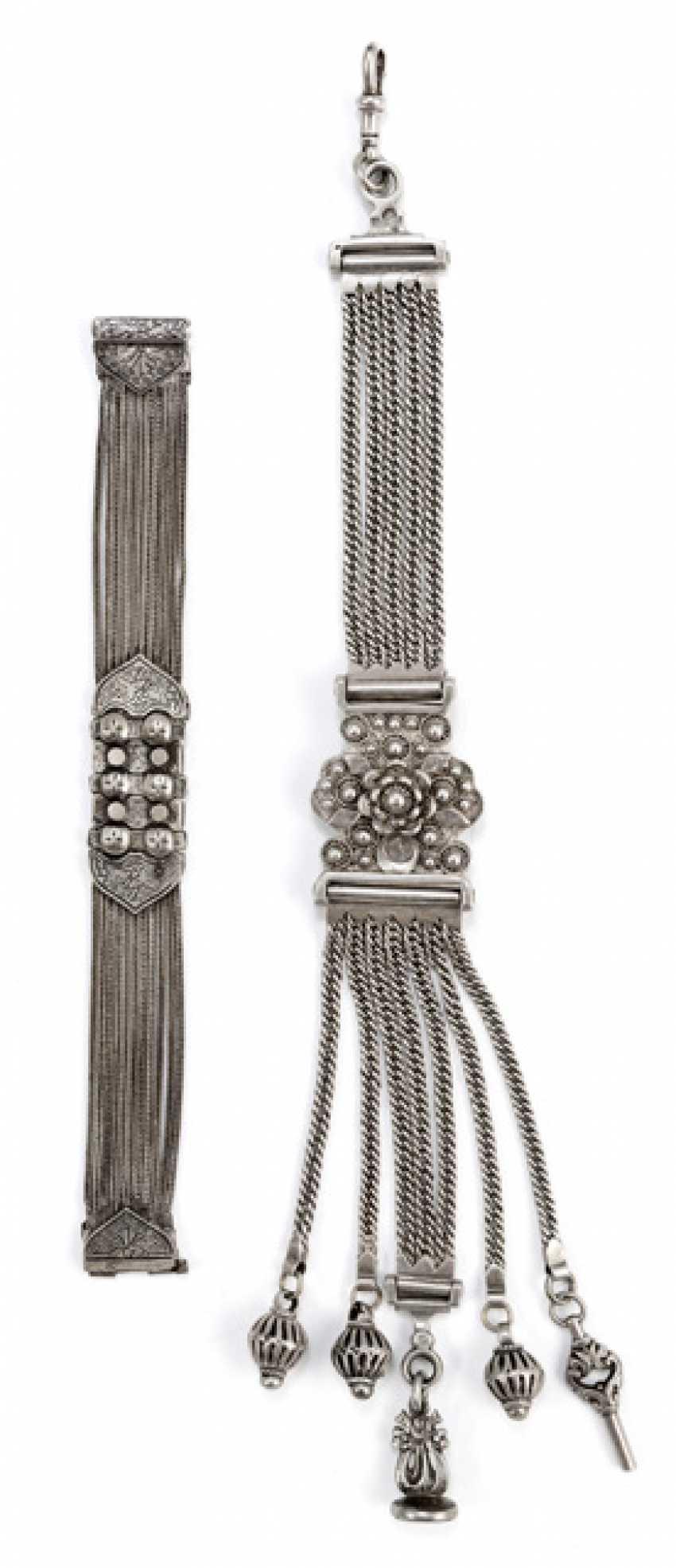 Ottoman Chatelaine and bracelet - photo 1