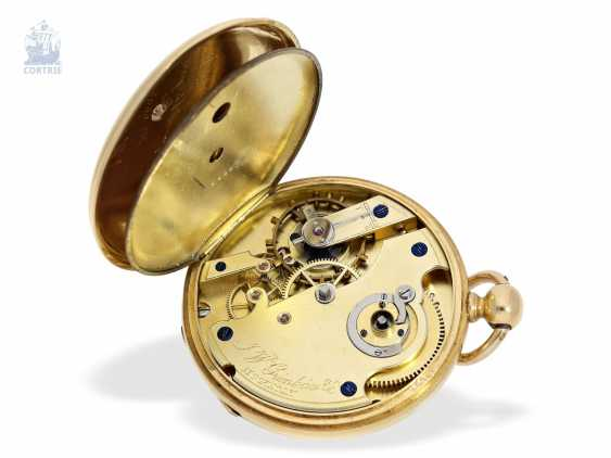 Pocket watch: interesting and unusual Swedish Chronometer, J. W. Grönbäck, Stockholm No. 8605, experimental work, approx. 1850/60 - photo 2
