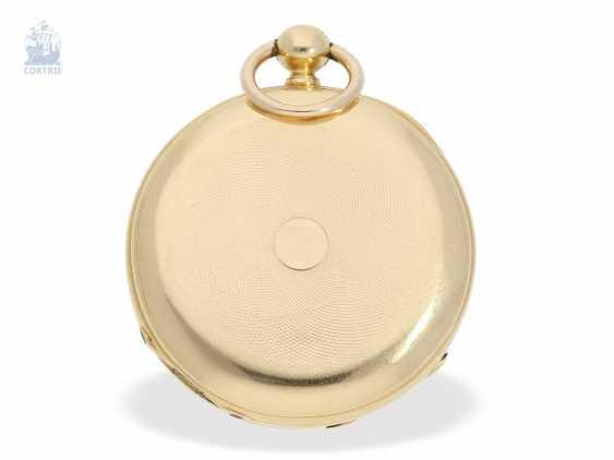 Pocket watch: interesting and unusual Swedish Chronometer, J. W. Grönbäck, Stockholm No. 8605, experimental work, approx. 1850/60 - photo 3
