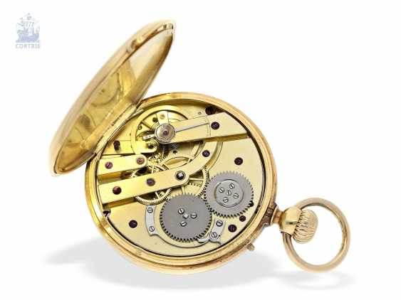 Pocket watch: early, high, fine Anchor chronometer, and by 1860, Lepine Palais Royal, Paris, No. 16287 - photo 5