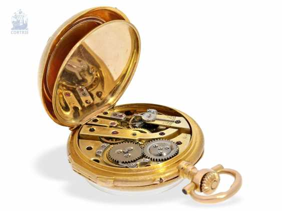 Pocket watch/Anhängeuhr: very rare and extraordinary watch in the Louis XVI style, signed Breguet No. 3555, CA. 1875 - photo 4