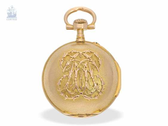 Pocket watch/Anhängeuhr: very rare and extraordinary watch in the Louis XVI style, signed Breguet No. 3555, CA. 1875 - photo 7