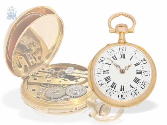 Pocket watch/Anhängeuhr: very rare and extraordinary watch in the Louis XVI style, signed Breguet No. 3555, CA. 1875 - photo 8