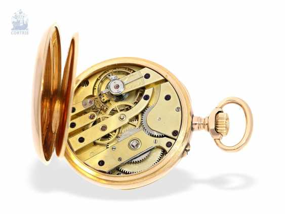 "Pocket watch: exquisite French Observation chronometer, ""CHRONOMETRE 107904 BULLETIN OFFICIEL DE L'OBSERVATOIRE DE BESANCON"", Lebret Paris CA. 1890 - photo 2"