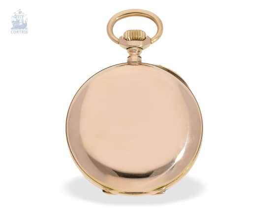 "Pocket watch: exquisite French Observation chronometer, ""CHRONOMETRE 107904 BULLETIN OFFICIEL DE L'OBSERVATOIRE DE BESANCON"", Lebret Paris CA. 1890 - photo 3"