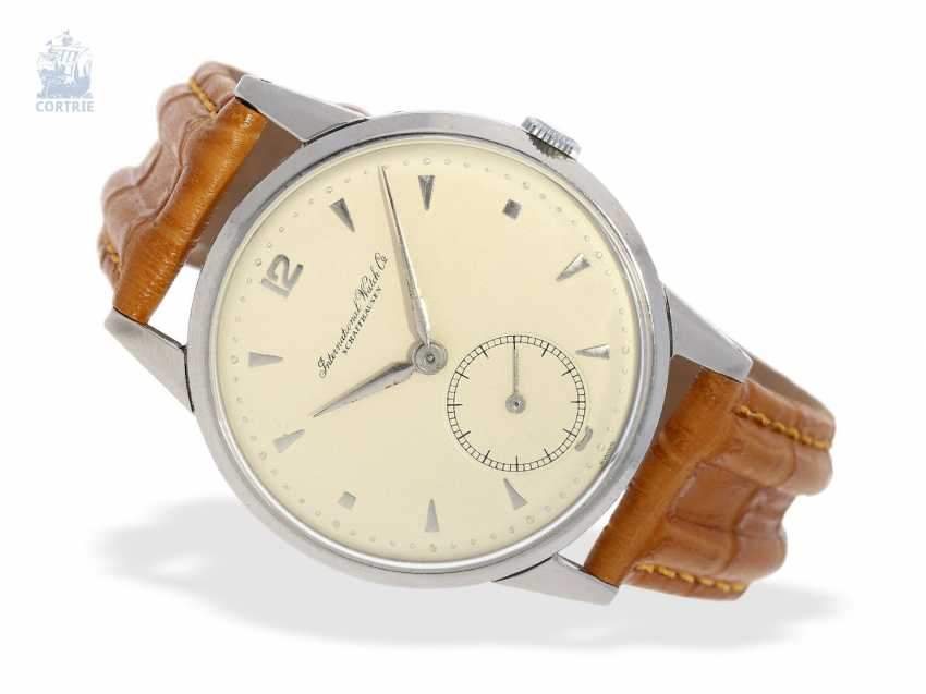 Watch: large, early IWC men's watch from 1947, very nice condition - photo 1