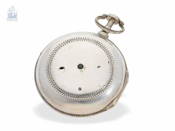 Pocket watch: interesting, early English Cylinder watch of very fine quality, Hallmarks London in 1787, John crowd hill London No. 999 - photo 4
