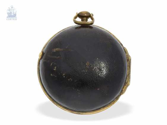 Pocket watch: early English Spindeluhr, around 1700, one of the most important London watchmaker of this time, Henry Jones 1654-1695/1698 - photo 2